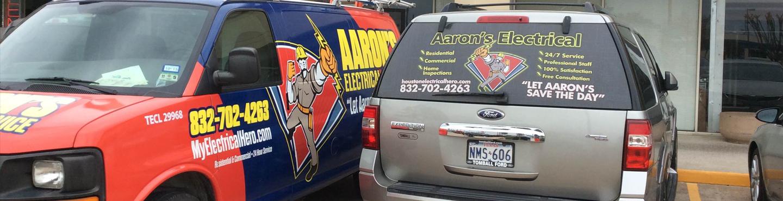 Aaron's Electrical Van image