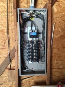 after image of electrical panel